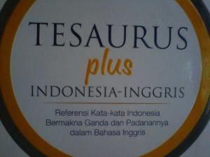 Tesaurus Plus Indonesia-Inggris
