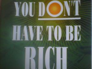 You Don't Have to be Rich